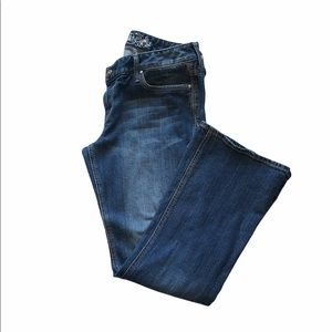 Express Stella bootcut jeans medium wash size 12
